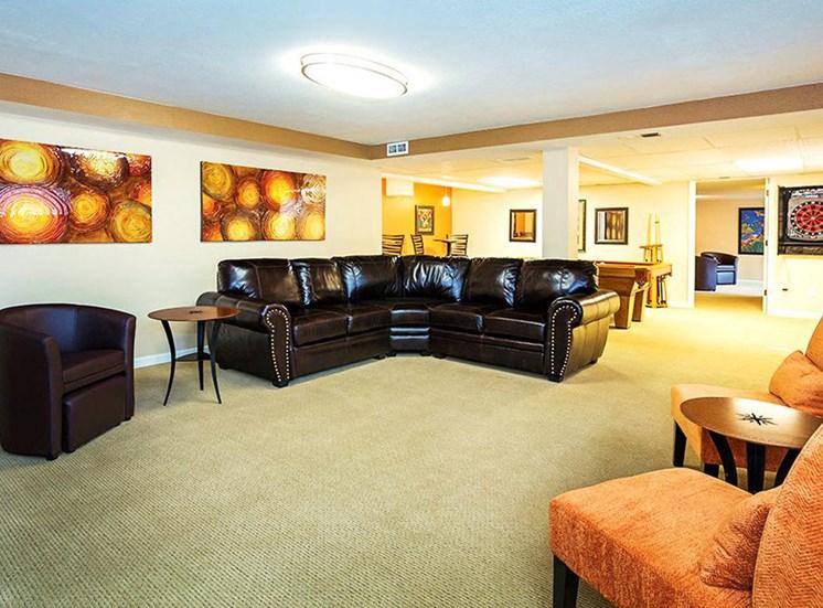 Highland Park lounge.