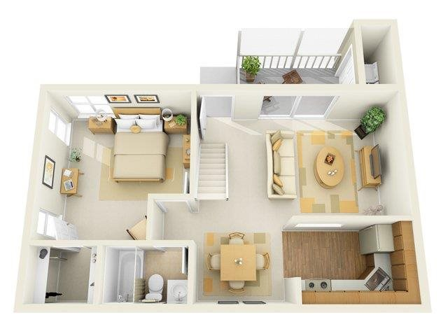The Cambridge Floor Plan 4