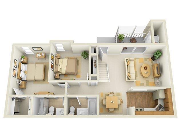 The Essex Floor Plan 6