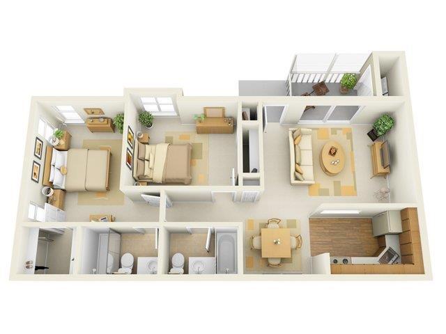The Lancaster Floor Plan 5