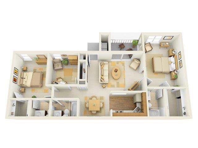 The Worthington Floor Plan 7