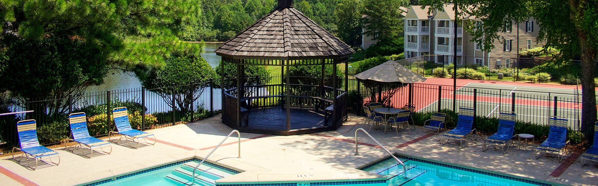 Arbor Place Apartments In Douglasville GA Sparkling Pool Two Tennis Courts And Views Of The Six Acre Lake At Lakeside