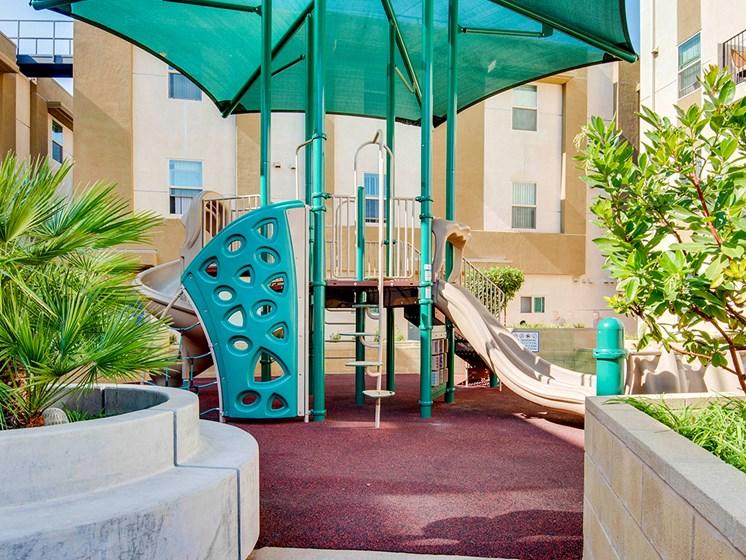 Playground-Santa Cecilia Apartments, Los Angeles CA