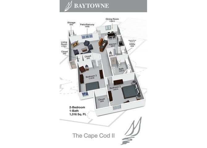Cape Cod II Floor Plan 4