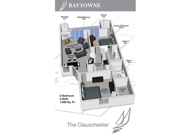 Clauschester I Floor Plan 3
