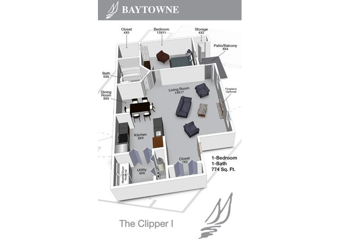 Clipper I Floor Plan 8