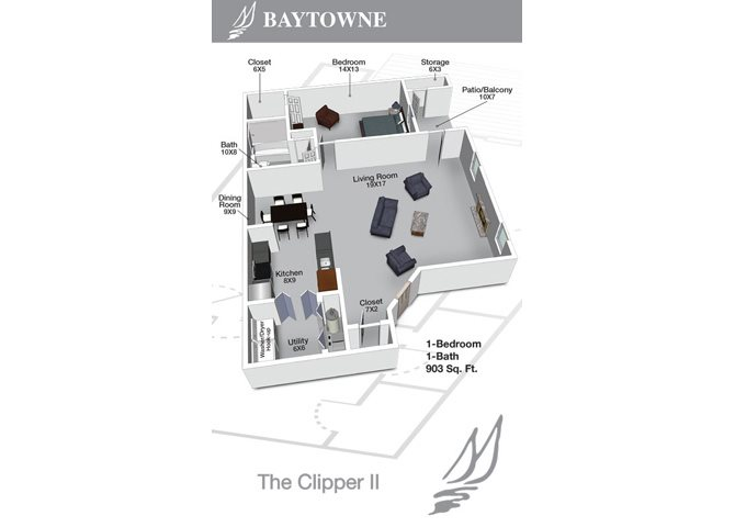 Clipper II Floor Plan 9