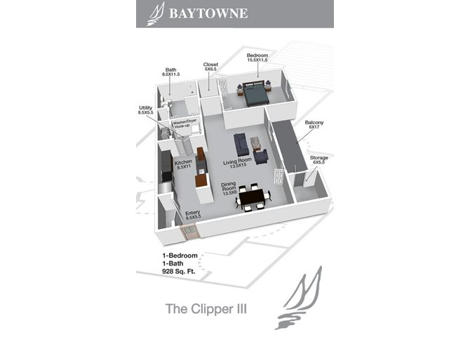 Clipper III Floor Plan 10