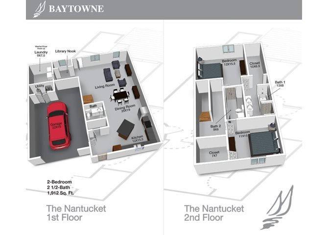 Nantucket Floor Plan 7