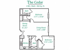 The Woods at Victoria Park: The Cedar