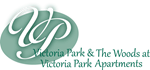 Victoria Park and the Woods at Victoria Park Logo