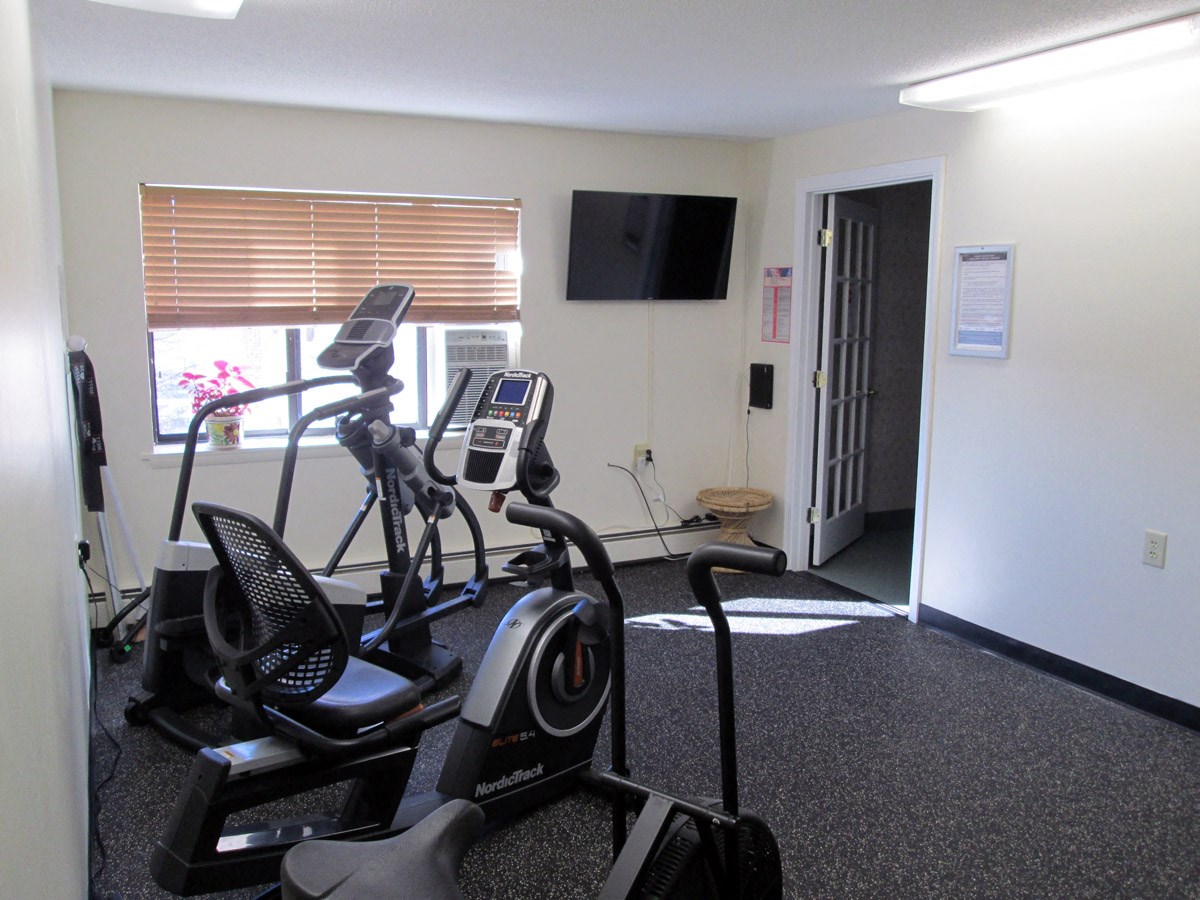Fitness Center at Franklin Square Manor Apartments in New Britain, CT