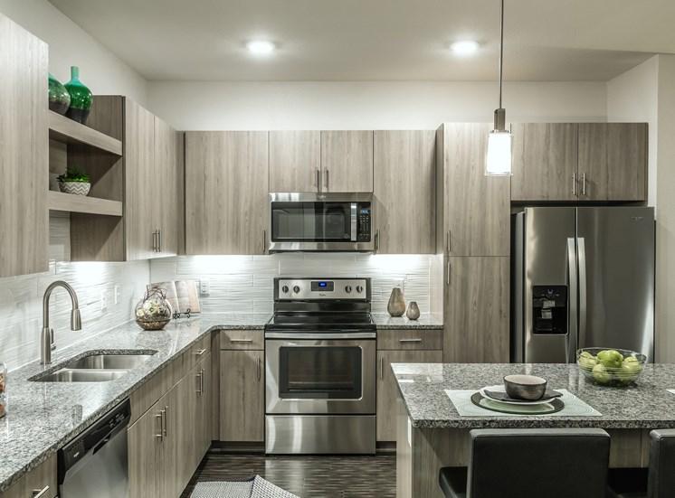 Fully Equipped Kitchen at Altitude 970, Kansas City, MO, 64151