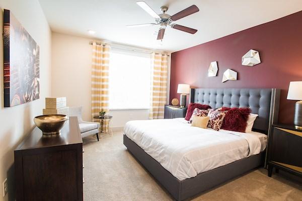 Gorgeous Bedroom at Altitude 970, Kansas City, Missouri
