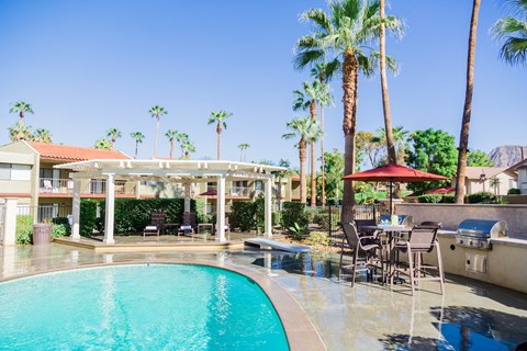 Pool Deck & Pool - Ariana At El Paseo Lifestyle