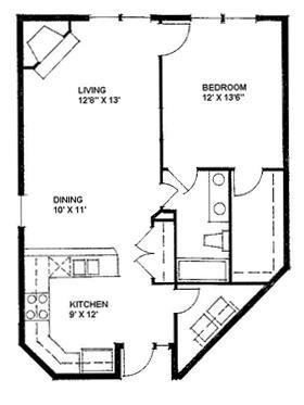 The Cameron 824 Floor Plan 1