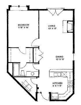 The Cameron 829 Floor Plan 2