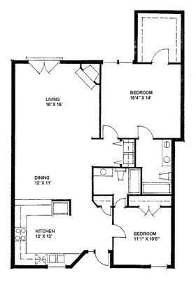 The Durham 1166 Floor Plan 9