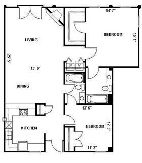 The Durham 1257 Floor Plan 13