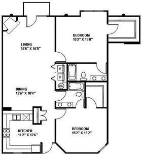 The Durham 1351 Floor Plan 15