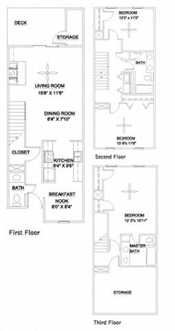 The Trinity 1640 Floor Plan 4