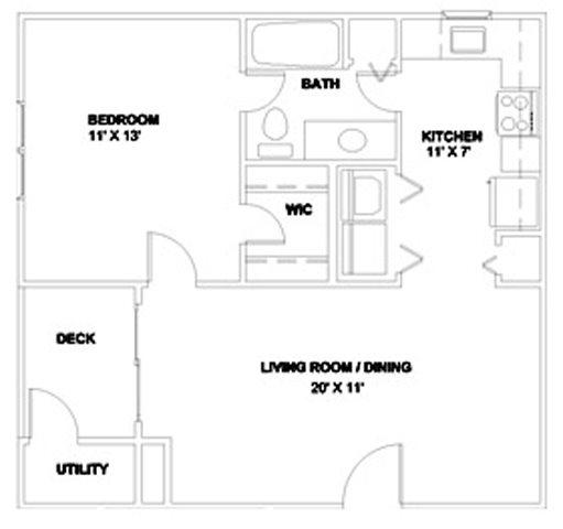 The Brightleaf 610 Floor Plan 2