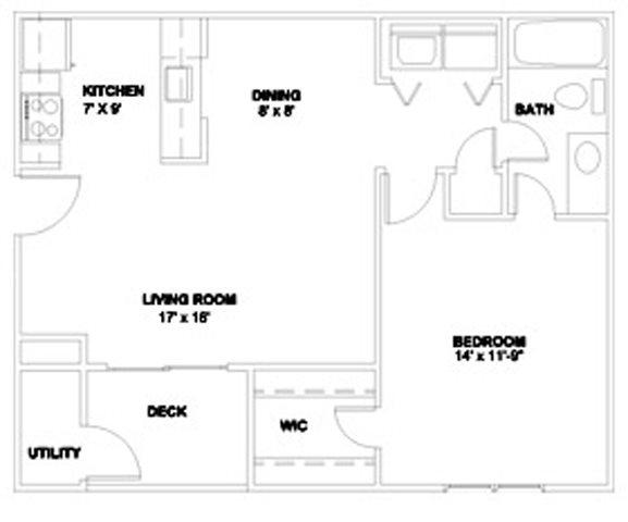 The Brightleaf 660 Floor Plan 3