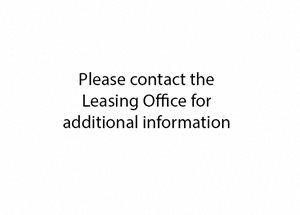 please contact the leasing office for additional information