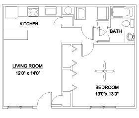 The Brightleaf 600 Floor Plan 1