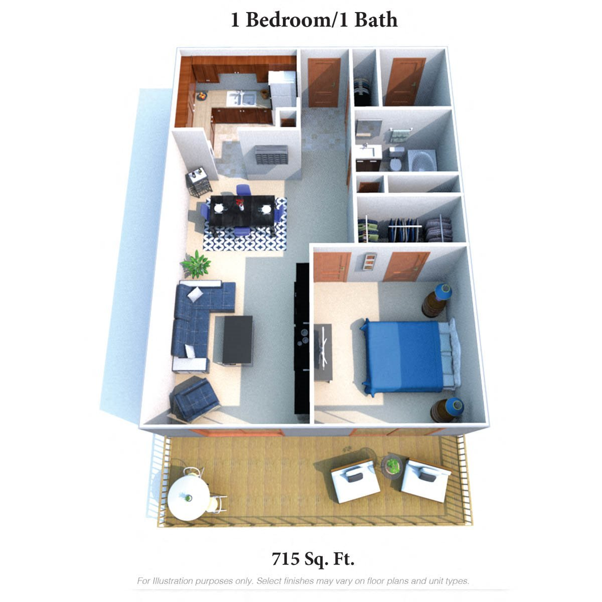Floor Plans of Indian Lookout Apartments in Cincinnati, OH