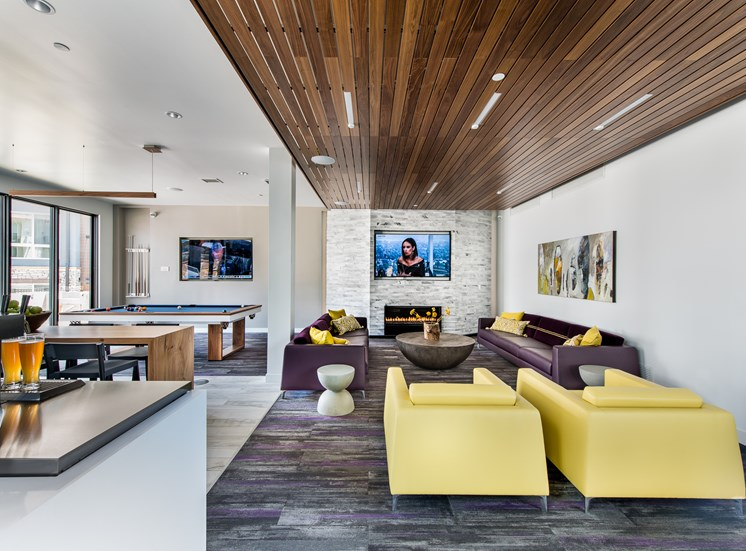 BEYOND: A gaming room and entertainment kitchen