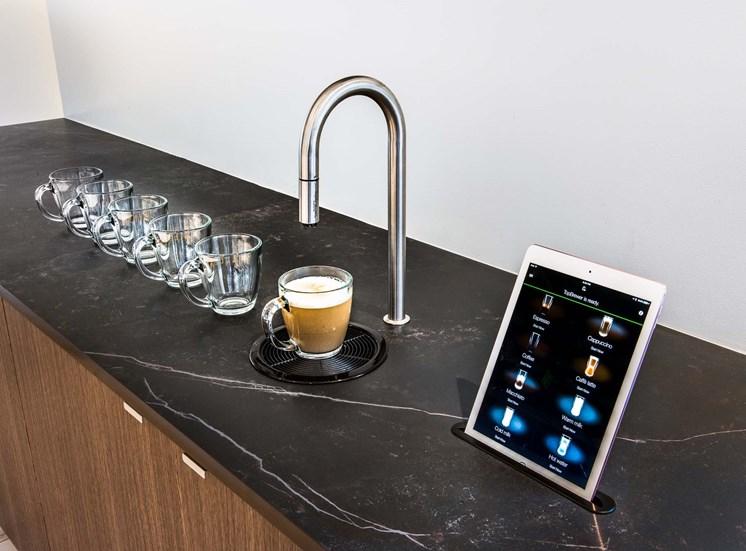 ABOVE: TopBrewer espresso machine