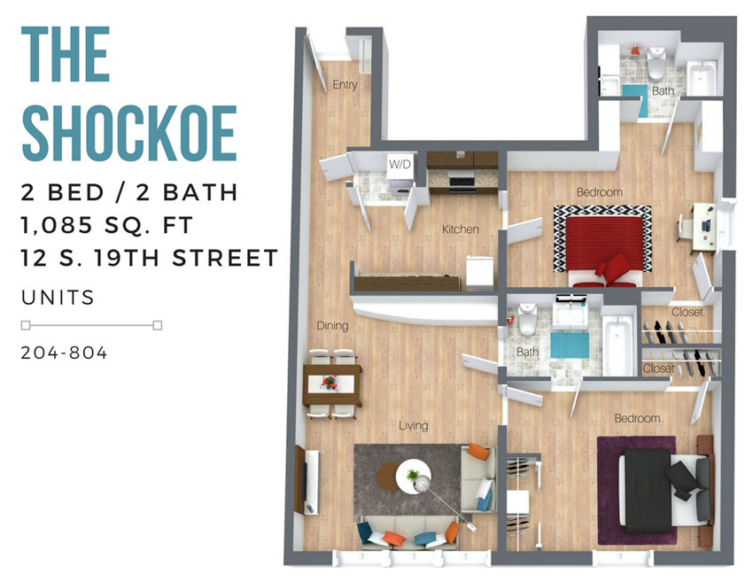 The Shockoe (Overview-City Side)