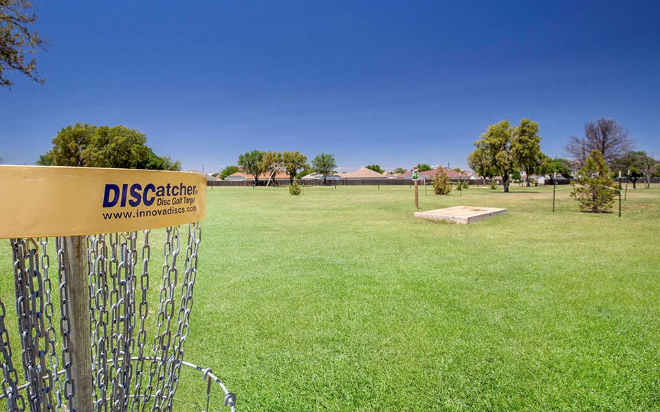 Dyess Family Homes disc golf course