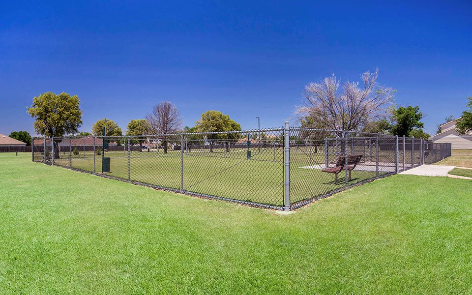 Dyess Family Homes dog park