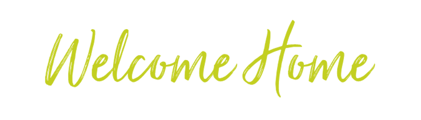 weclome home graphic