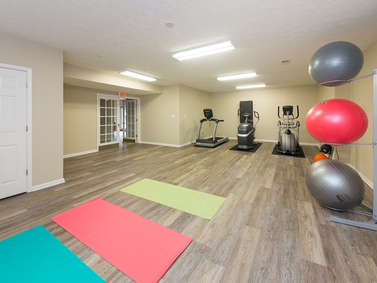 Yoga Room at Wyndamere Apartments, Kentucky
