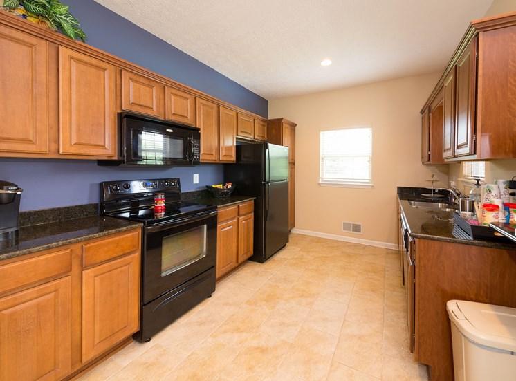 Large, Modern Kitchen at Wyndamere Apartments, Georgetown, Kentucky