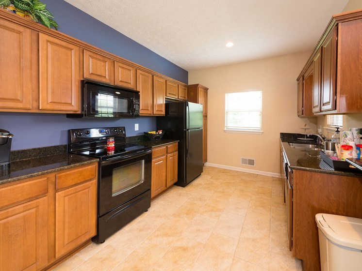 Large, Modern Kitchen at Wyndamere Apartments, Georgetown, Kentucky