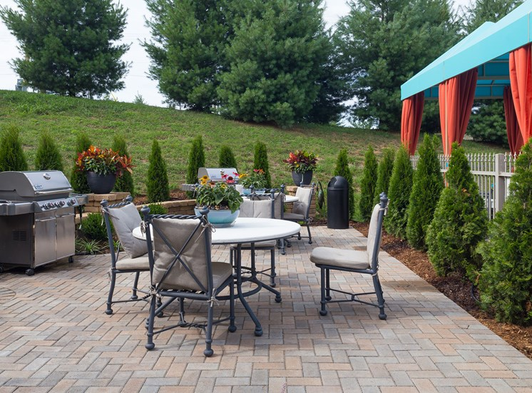 BBQ Area at Wyndamere Apartments, Georgetown, KY