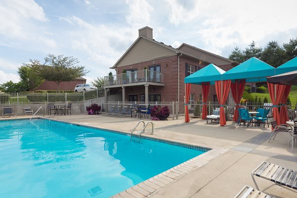 Sparkling Pool at Wyndamere Apartments, KY 40324