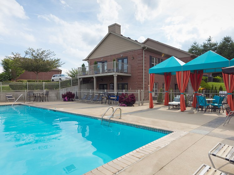 Sparkling Swimming Pool at Wyndamere Apartments, 101 Collins Path