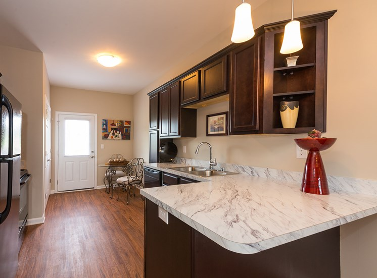 Large Kitchen at Wyndamere Apartments, Georgetown, Kentucky