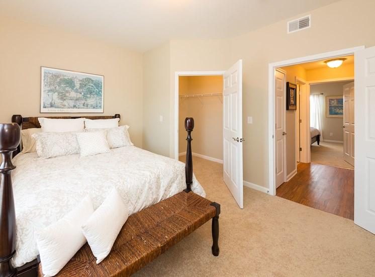 Bright Master Bedroom at Wyndamere Apartments, Georgetown, KY 40324