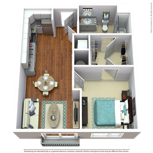 South Sixteen The Whitmore Floorplan