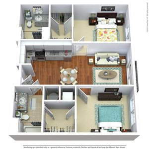 South Sixteen The Woods Floorplan
