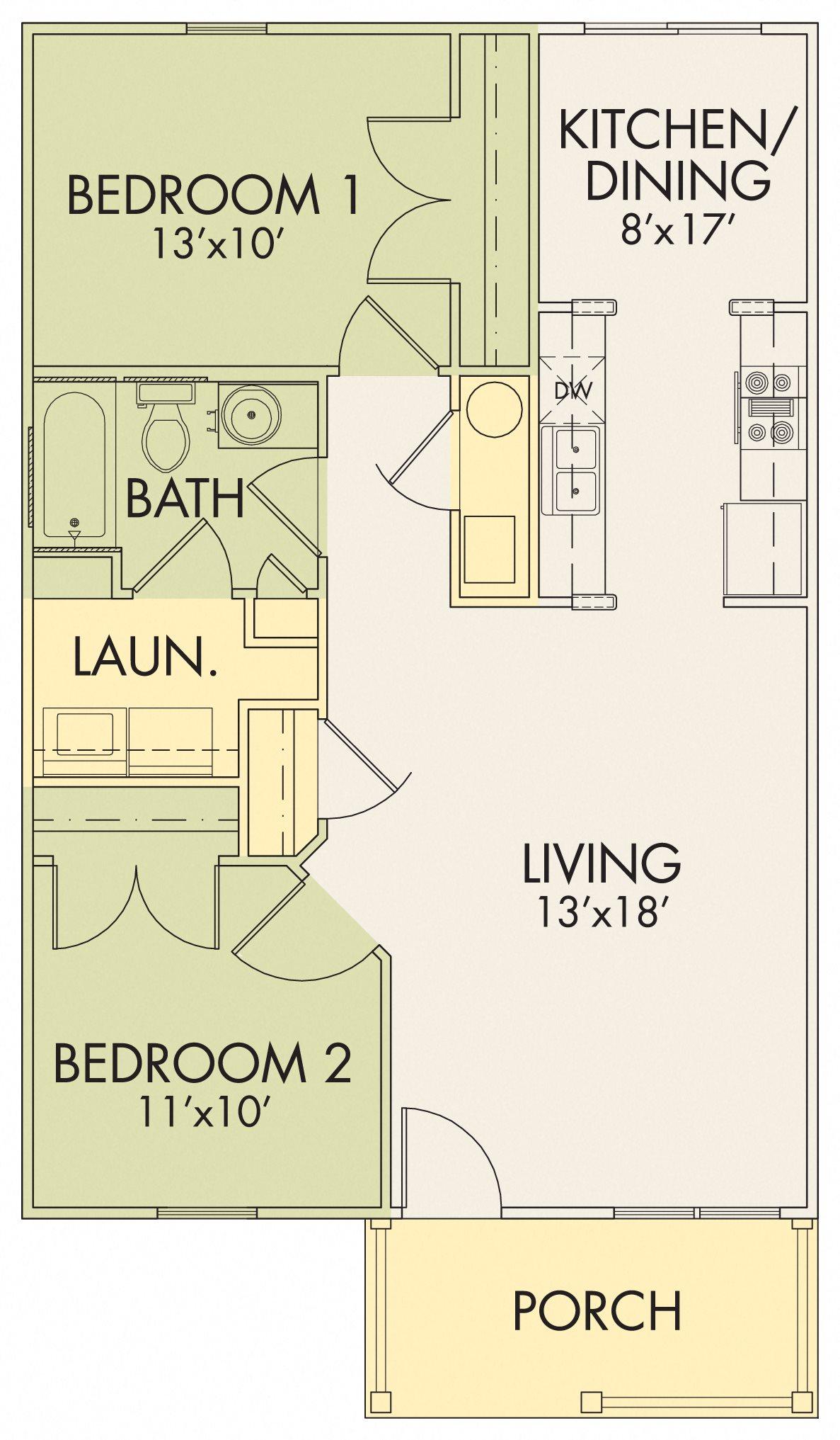 Willowbrook II B Floor Plan 4