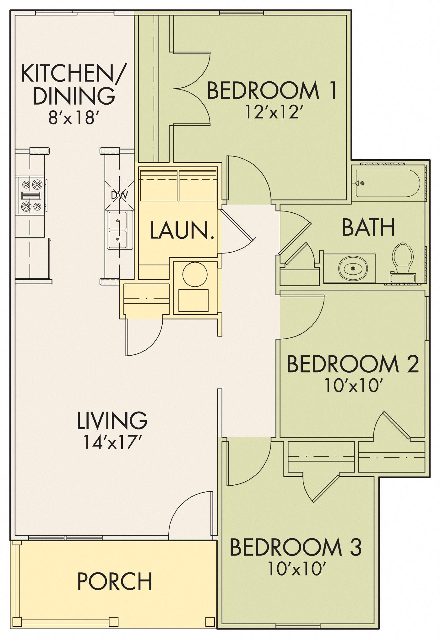 Willowbrook II C Floor Plan 5