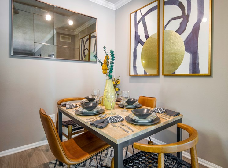 Separate Dining Area at The Garfield Apartments in Bowie Maryland