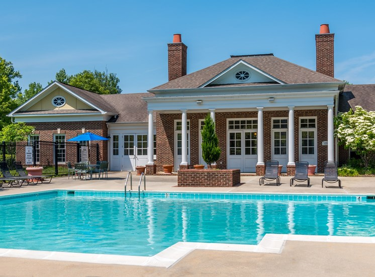 Clubhouse with Swimming Pool at at The Garfield, Maryland 20716